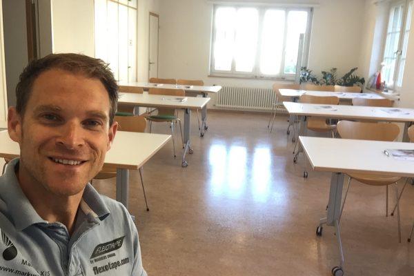Gleich startet der Kurs in Zürich. Alles ist vorbereitet und ich freu mich riesig